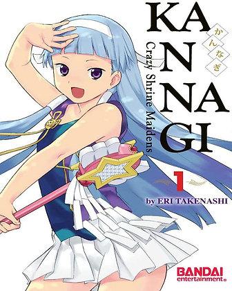 Kannagi Volume 1 (Kannagi : Crazy Shrine Maidens) Manga Paperback – June 7, 2011