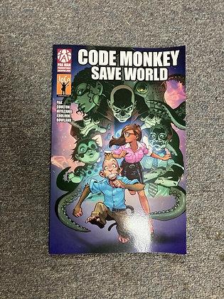 Code Monkey Save World Paperback – January 1, 2014 by Greg Pak (Author)