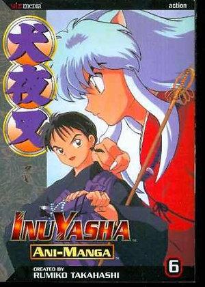 Inuyasha Ani-Manga Vol. 2,4,6 (Manga) NEW