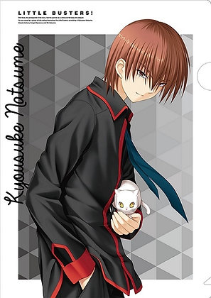 """Key Clear File """"Little Busters!"""" Kyosuke"""