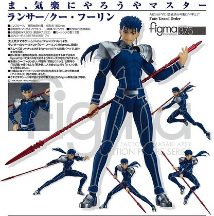 Max Factory Fate/Stay Night Lancer Cu Chulainn Figma Action Figure