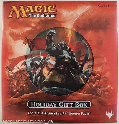 Magic The Gathering MTG 2014 Khans of Tarkir Factory Sealed Holiday Gift Box