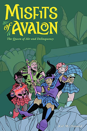 MISFITS OF AVALON TP VOL 01 QUEEN OF AIR AND DELINQUENCY DARK HORSE COMICS (W/A/
