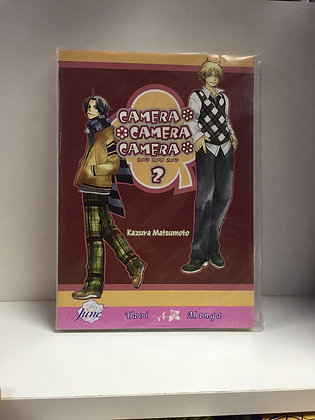 Camera, Camera, Camera Volume 2 (Yaoi) Paperback – Illustrated