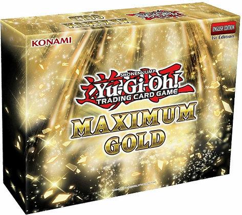 Yu-Gi-Oh! Cards: Maximum Gold Box