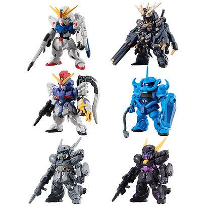 "Set of 6 ""Gundam"" FW Gundam Converge #12"