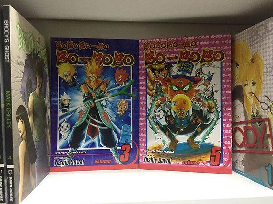 BOBOBO-BO BO-BOBO SHONEN JUMP ED GN VOL 3,5 (Manga) (Books)  VIZ MEDIA LLC