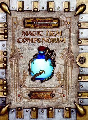 Premium 3.5 Edition Dungeons & Dragons Magic Item Compendium Hardcover
