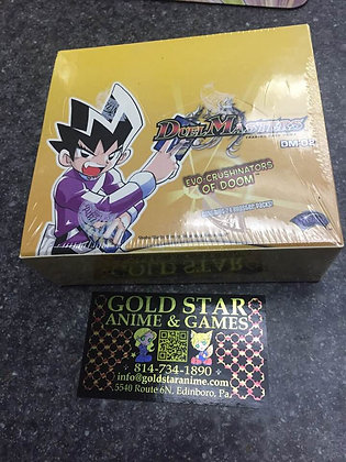 Factory Sealed Duel Masters CCG Evo-Crushinators Of Doom Booster Box