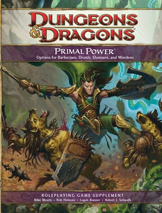 Dungeons & Dragons: Primal Power - Roleplaying Game Supplement Hardcover