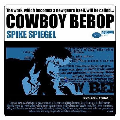 """Cowboy Bebop"" Spike Spiegel Jacket Ver. Waterproof Sticker"