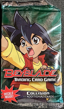 One Beyblade TCG Collision Sealed booster pack