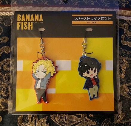 """Banana Fish"" Rubber Strap Set Ash & Eiji"