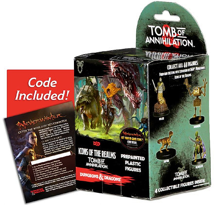 Dungeons & Dragons Fantasy Miniatures: Icons of the Realms Set 7 Tomb of Annihil