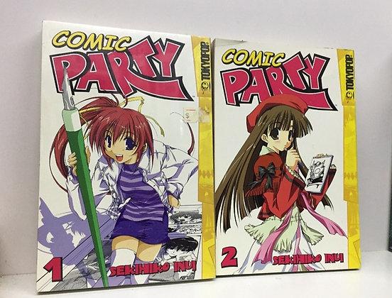 Comic Party, Vol. 1,2 Manga Paperback – August 3, 2004  bySekihiko Inui