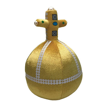 MONTY PYTHON HOLY HAND GRENADE 8IN TALKING PLUSH  FACTORY ENTERTAINMENT