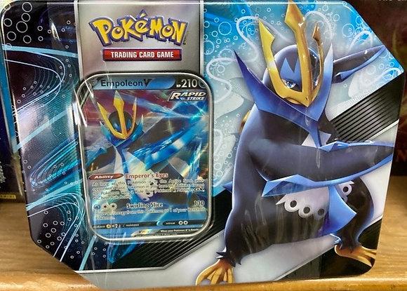 Pokemon TCG: Striker V Tin Bundle Empoleon V
