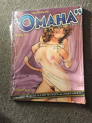 COMPLETE OMAHA THE CAT DANCER TP VOL 2 (A) (C: 1-0-0) EUROTICA (W) Kate Worley