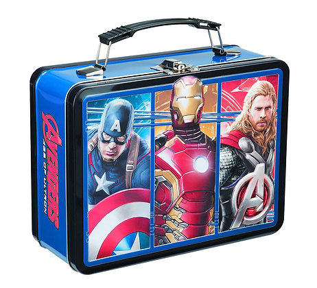 MARVEL AVENGERS AGE OF ULTRON LARGE TIN TOTE (LUNCH BOX)  VANDOR LLC