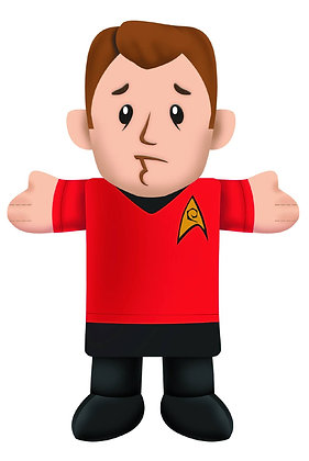 STAR TREK RED SHIRT PLUSH CHEW TOY (C: 1-1-1) CROWDED COOP, LLC Your dog will be