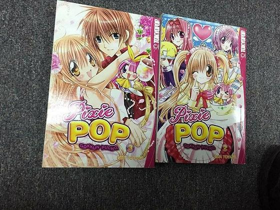 PIXIE POP GOKKUN PUCHO GN VOL 2,3 Manga ( Books)