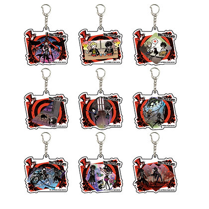 "Acrylic Key Chain ""Persona 5"" 03 Event Scene Reproduction Ver.(Graff Art Design)"