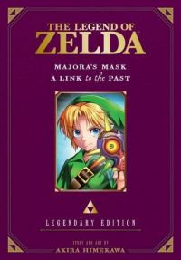 Zelda Legendary Edition Vol. 3 (Manga) (Majora's Mask/A Link to the Past)