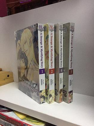 A Strange and Mystifying Story Vol. 1,2,4,7(4 Yaoi Manga )Paperback