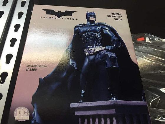 Batman Begins Batman on Rooftop 18cm Statue By DC Direct 0761941248547