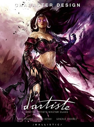 D'artiste Character Design Paperback – March 31, 2011 by Gonzalo Ordonez Arias (