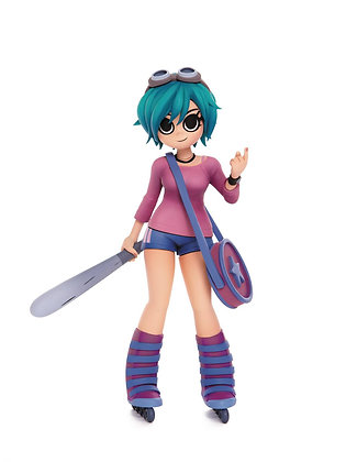 SCOTT PILGRIM RAMONA FLOWERS 9IN COLLECTIBLE VINYL FIGURE
