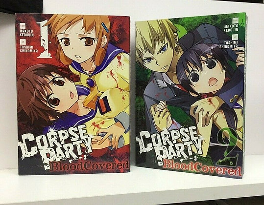 CORPSE PARTY BLOOD COVERED GN VOL 1,2 YEN PRESS