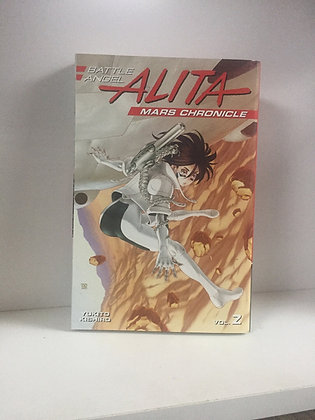 Battle Angel Alita Mars Chronicle 2 Paperback – Illustrated, April 24, 2018