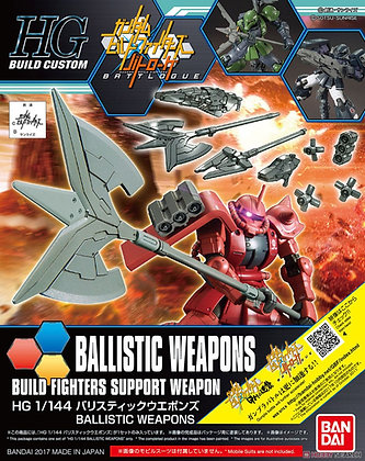 BandaiBallistic Weapons (HGBC) (Gundam Model Kit)