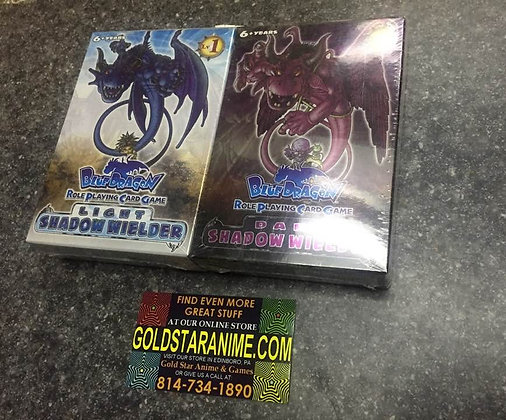 Blue Dragon Role-Playing Card Game: Light and Dark Shadow Wielder Starter Decks