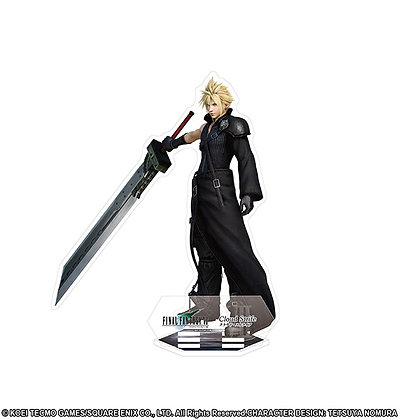 """""""Dissidia Final Fantasy"""" Acrylic Stand Cloud Cloudy Wolf"""