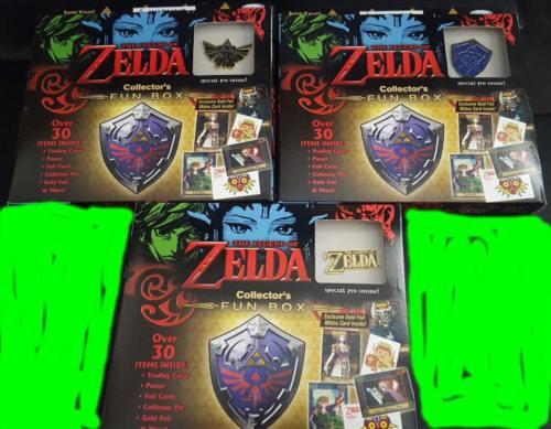 SET 3 2016 Nintendo The Legend Of Zelda Collector's Fun Box