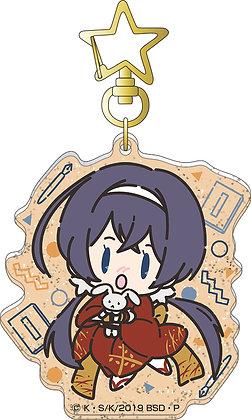 """""""Bungo Stray Dogs"""" Acrylic Key Chain Izumi Kyoka Retro Chibi Character"""