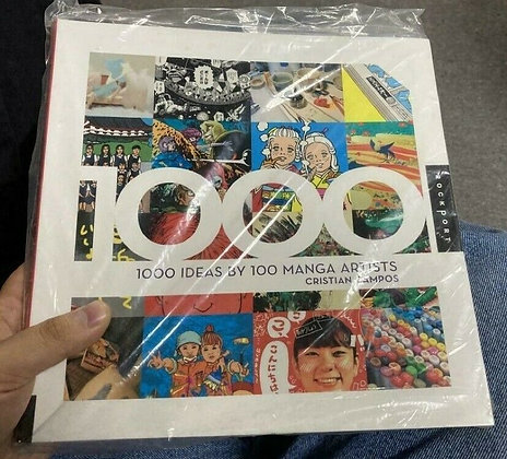 1,000 Ideas by 100 Manga Artists Paperback – Bargain Price, October 1, 2011 by C