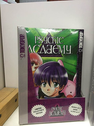 Psychic Academy Vol. 2 [Book and DVD Box Set] Paperback – November 15, 2005