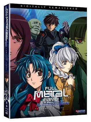Full Metal Panic! The Second Raid: The Complete Series