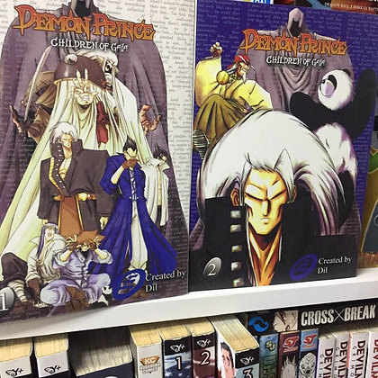 DEMON PRINCE CHILDREN OF GAIA GN Vol. 1,2, (Manga) (Books)