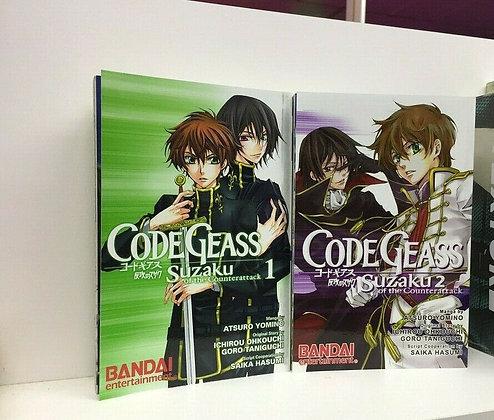 Code Geass: Suzaku of the Counterattack, Vol. 1,2 (Manga)Paperback