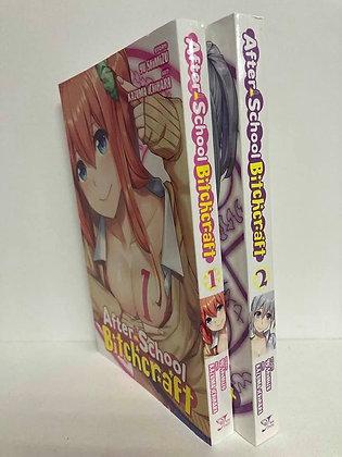 AFTER SCHOOL BITCHCRAFT GN VOL 1,2 Manga YEN PRESS