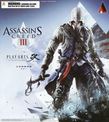 Play Arts Kai - AssaSquare Enix Play Arts Kai Connorssin's Creed 3 Conner Kenway