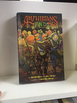 Amphibians' End (A Kulipari Novel #3) Hardcover – October 27, 2015 by Trevor Pry