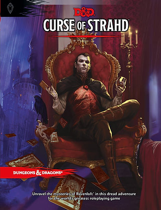 Curse of Strahd (Dungeons & Dragons Adventure Supplement) Hardcover