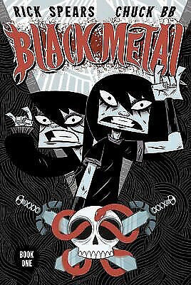 Black Metal Volume 1 Paperback – August 1, 2007 by Rick Spears  (Author), Chuck