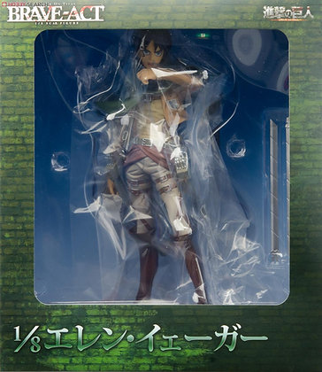 BRAVE ACT Attack on Titan Eren Yeager 1/8 Figure by Sen-Ti-Nel