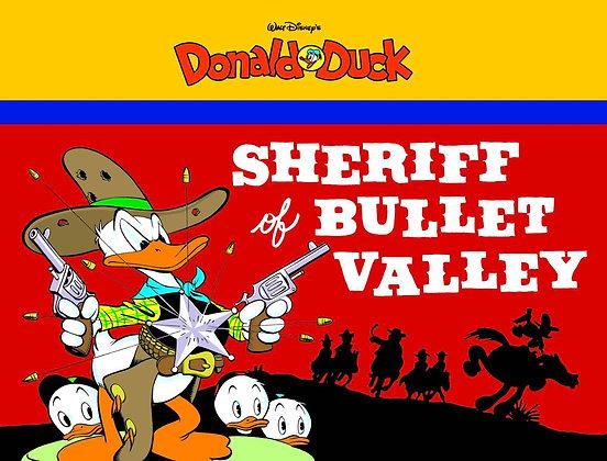 WALT DISNEY DONALD DUCK GN VOL 02 SHERIFF BULLET VALLEY (C: FANTAGRAPHICS BOOKS